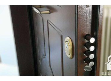 Αλλαγή κλειδαριάς σε πόρτα ασφαλείας Potent.